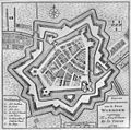 Plattegrond, tekening- Nieuwe Grondtekening van de Stad Woerden. Te Amsterdam by Is. Tirion 1749` - Woerden - 20215844 - RCE.jpg