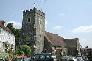 Plaxtol - Image: Plaxtol Church, Kent geograph.org.uk 321994