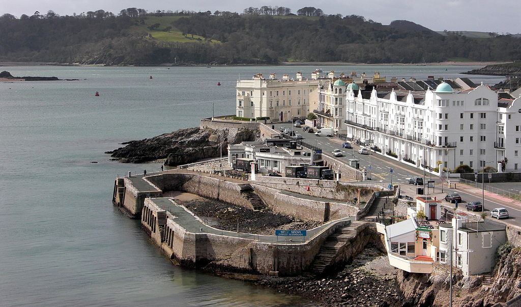 Playmouth by the sea, Devon, UK