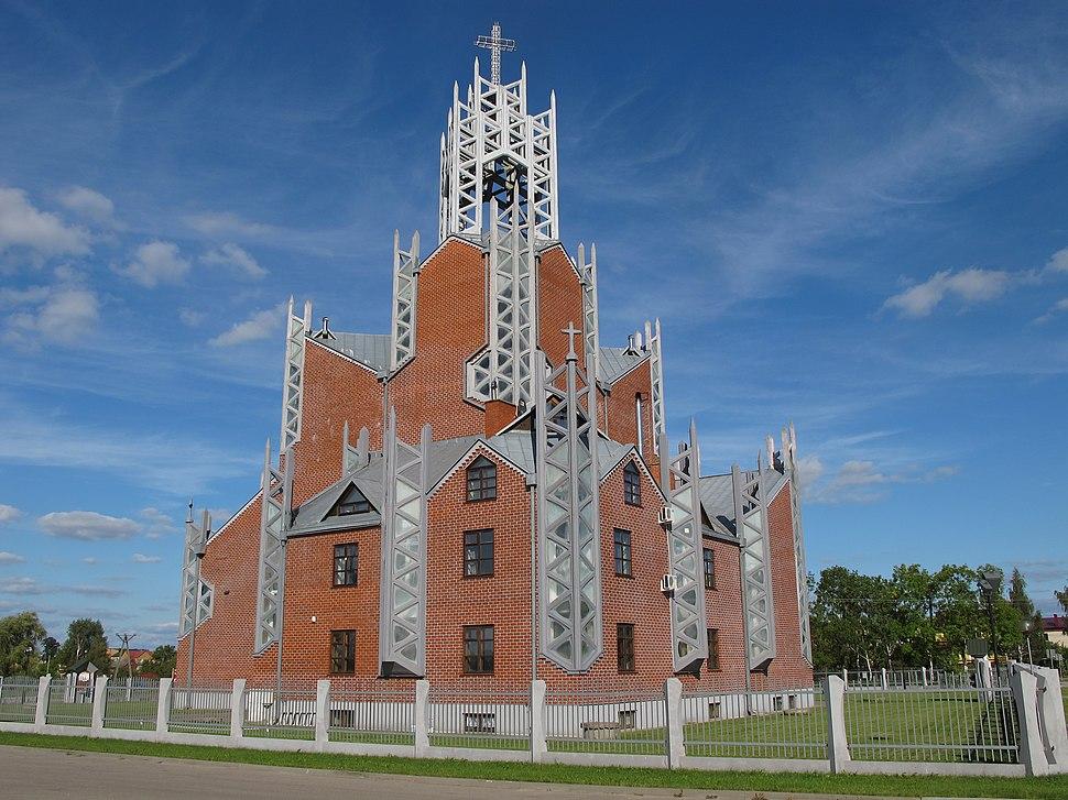 ad9225419a Podlaskie - Bielsk Podlaski - Bielsk Podlaski - Wojska Polskiego 66 -  Kościół Miłosierdzia 09