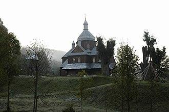 Hoszów - Greek Catholic church of Saint Nicholas