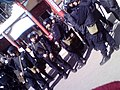 Police officers in Labrang, Tibet during Losar, 2008 藏曆新年期间西藏拉卜楞的警察.jpg