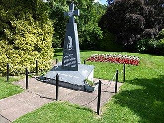 Duns - Polish War Memorial, Duns