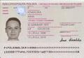 Polish passport biodata page.png