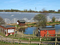 Polytunnels at Follyfoot Fisheries - geograph.org.uk - 1218068.jpg
