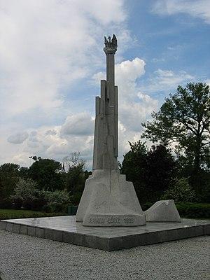 Łódź Army - Monument to Łódź Army in Park Helenów in Łódź
