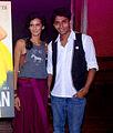 Poorna Jagannathan unveils PETA Ad 01.jpg