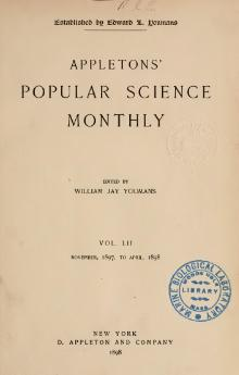 Popular Science Monthly Volume 52.djvu