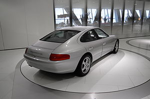 Porsche 989 - Porsche 989 Prototype behind/side