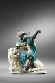 Porslinsfigur. Afrika - Hallwylska museet - 87106.tif