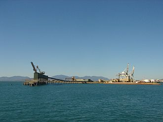 Port of Townsville - Pacific Condor on Berth 3, 2016