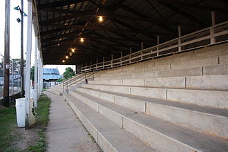 Portage County, Wisconsin - Grandstands at the county fairgrounds