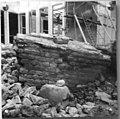 Porte et rempart fouilles 1972 rue Université 0506.jpg