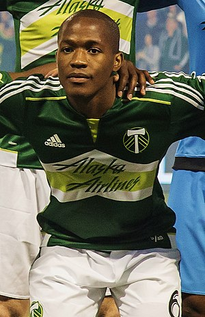 Darlington Nagbe - Nagbe lining up for the Portland Timbers in 2015