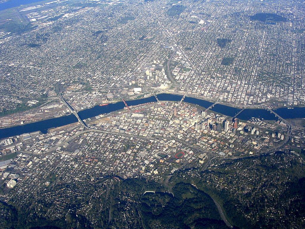 PortlandOR-aerial
