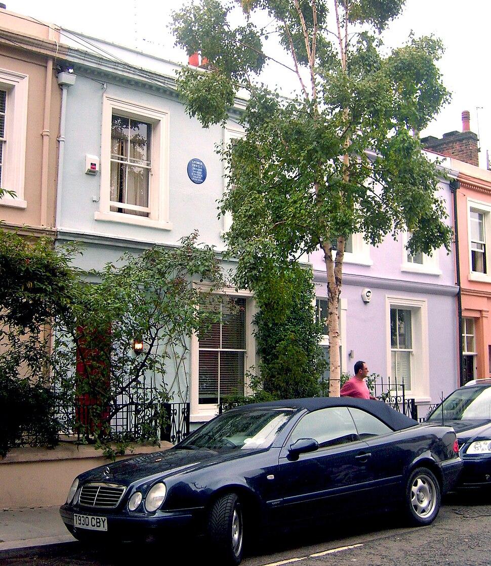 Portobello Road - George Orwell House