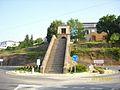 Portomarin welcome stairs, Galicia.jpg