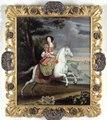 Porträtt. Ryttarporträtt. Catrine de Neuville Comtesse d´Armagnacq - Skoklosters slott - 56658.tif