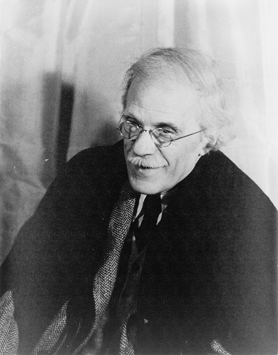 Portrait of Alfred Stieglitz 1935 Apr 17
