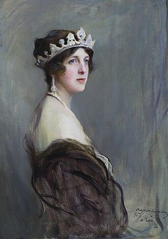 Edith Vane-Tempest-Stewart, Marchioness of Londonderry - Lady Edith Vane-Tempest-Stewart by Philip de László, 1927