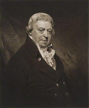 James Ferguson (Scottish politician) - A mezzotint portrait of Ferguson by William Ward, after Sir William Beechey, published 1818