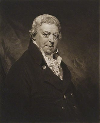 James Ferguson (Scottish politician) - A mezzotint portrait of Ferguson by William Ward, after Sir William Beechey, published 1818