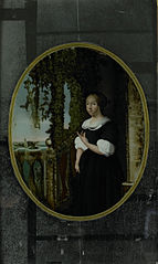 Portrait of a Woman in 17th-century Clothing
