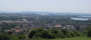 Portsdown Hill - View over Portsmouth from Portsdown Hill