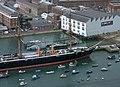 Portsmouth MMB 67 Royal Naval Dockyard - HMS Warrior.jpg