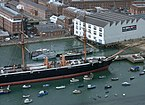 Portsmouth MMB 67 Royal Naval Dockyard - HMS Warrior.jpg