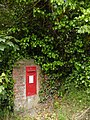 Postbox from King George's era, near Pittleworth Farm - geograph.org.uk - 179027.jpg