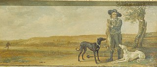 Hunter and Hounds with Dead Hare