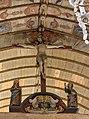 Poutre de gloire de l'église Saint-Denis (Pierrefitte-en-Auge, Calvados, France).jpg