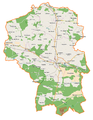 Powiat kluczborski location map.png