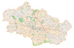 Mapa lokalizacyjna powiatu kutnowskiego
