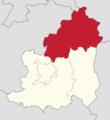 Powiat lubiński - lokalizacja gminy Rudna.png