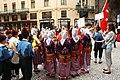 Praha, Staré Město, Prašná brána, turecké tance II.JPG