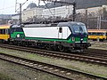 Praha-Smíchov, vlak RegioJet s lokomotivou Vectron (01).jpg