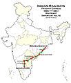 Prashanti Express route map.jpg