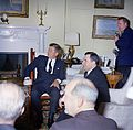 President John F. Kennedy Meets with Andrei Gromyko, Minister of Foreign Affairs of the Soviet Union (USSR).jpg