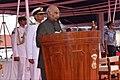 President Ram Nath Kovind awards the President's Colour to the Submarine Arm of Indian Navy (4).jpg