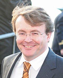 Prince Friso of Orange-Nassau brother of king Willem-Alexander of the Netherlands