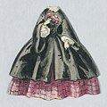 Print, Paper Doll Costume in Black over Checked Pink Skirt, 1840–60 (CH 18344237).jpg