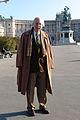 Prof. Dr. Karl Hardach at Heldenplatz in Vienna, Nov. 8th, 2005.jpg
