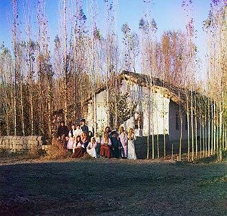 Kazakhstan - Russian settlers near Petropavlovsk