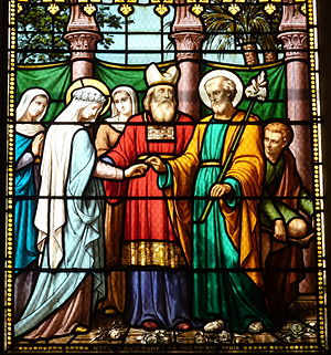 Espousals of the Blessed Virgin Mary - Marriage of the Virgin, Saint-Quiriace de Provins