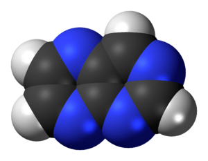 Pteridine - Image: Pteridine 3D spacefill
