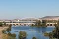 Puente Romano y Puente de lusitania, sobre Rio Guadiana Mérida - España.png