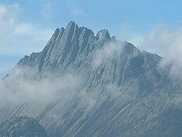 Toppen af Puncak Jaya.