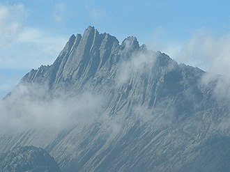 Indonesia - Puncak Jaya in Papua, the highest summit in Indonesia and Oceania